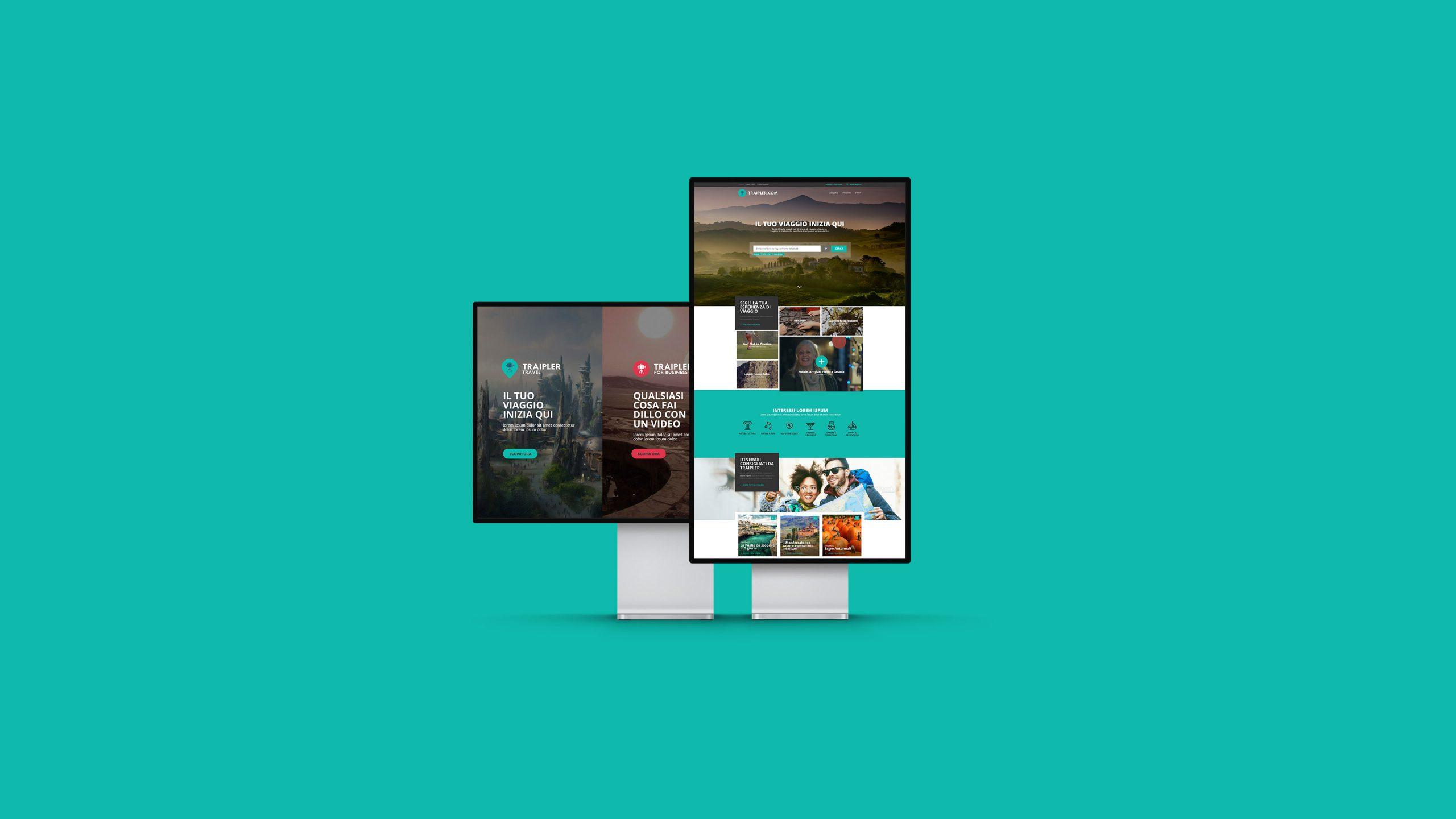 Traipler.com, <br>la prima piattaforma di video produzione professionale.