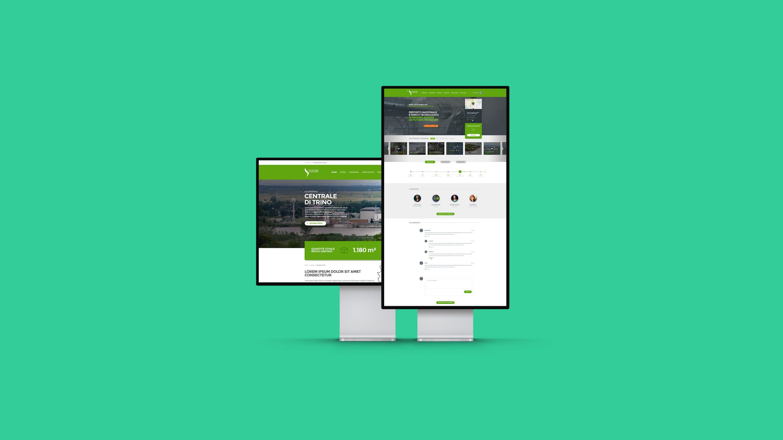 Il nuovo sito di Sogin S.p.A