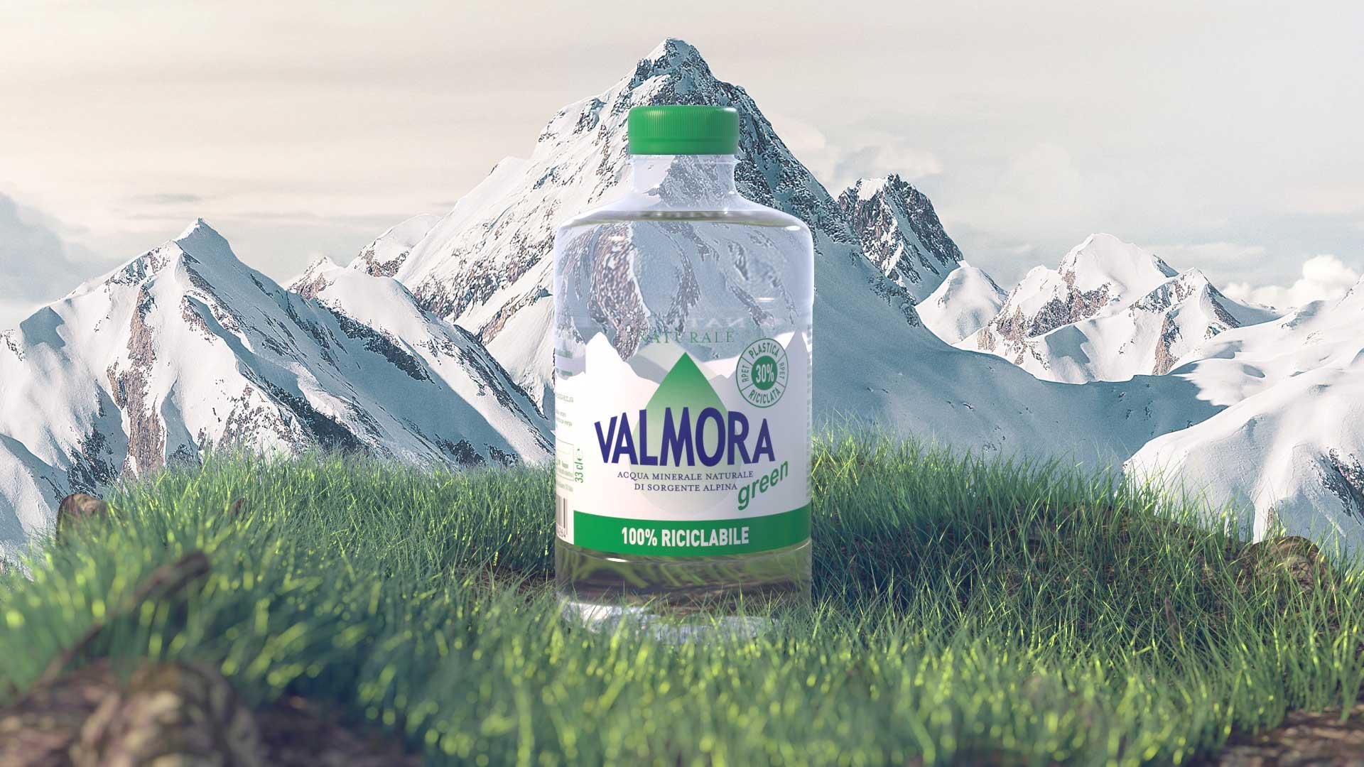 Acqua Valmora, la purezza delle Alpi in formato tascabile