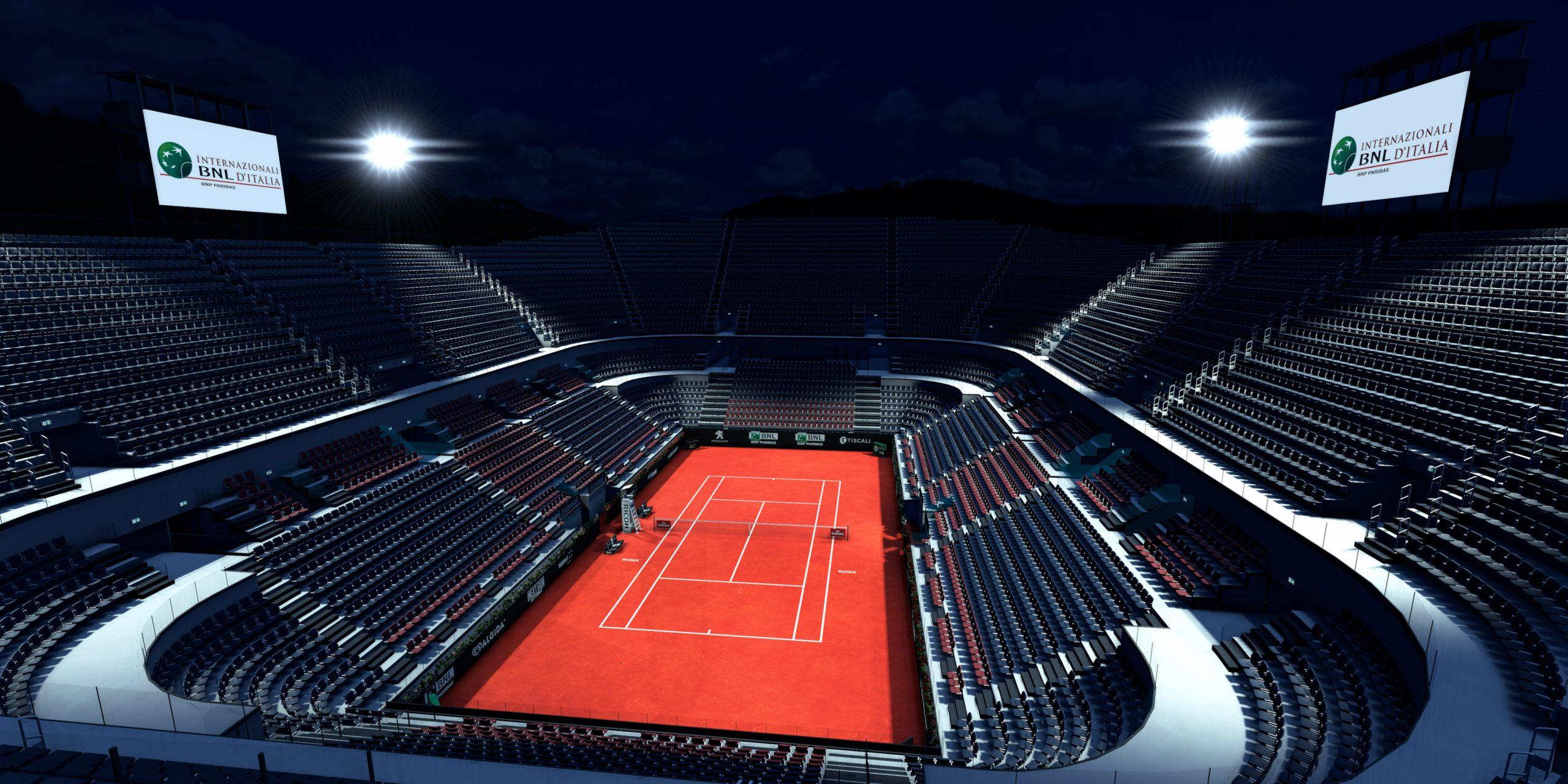 Il Campo Centrale del Tennis