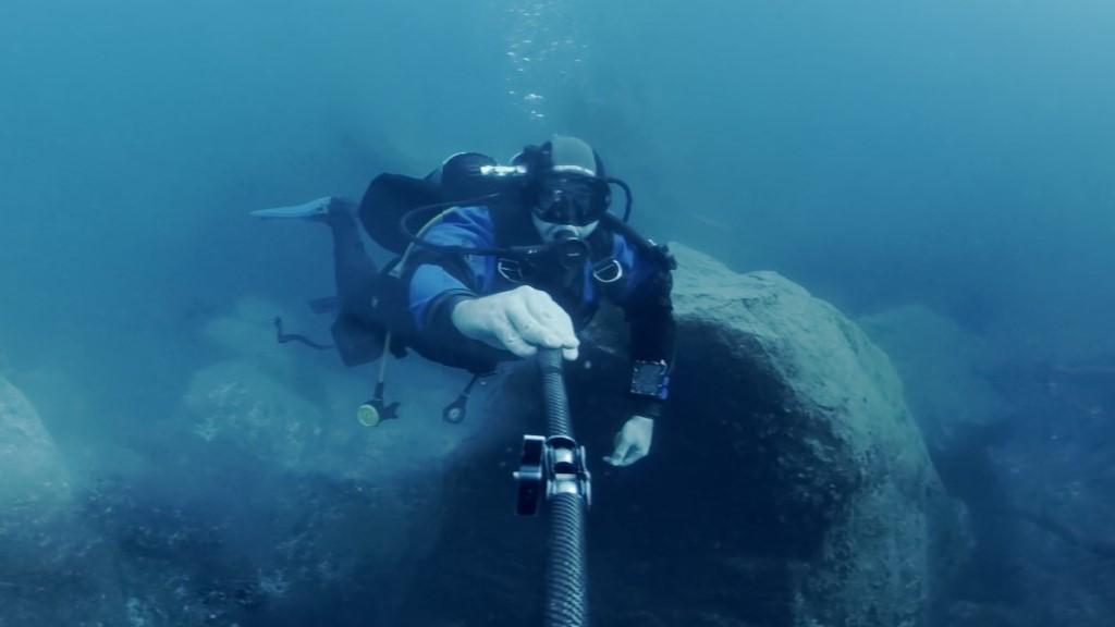 Un'immersione subacquea virtuale