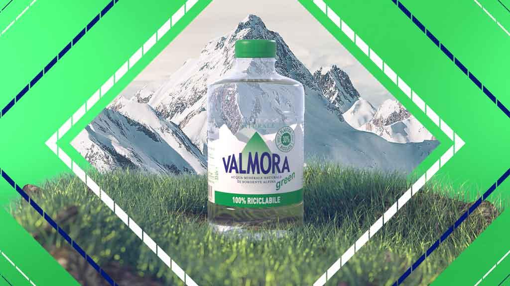 Acqua Valmora Pura, alpina e tascabile