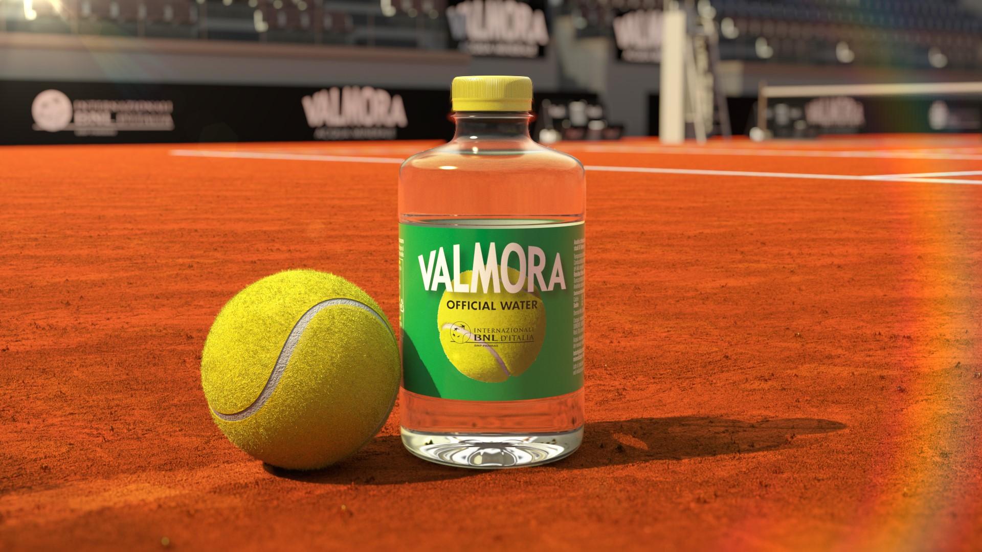 Acqua Valmora, sponsor ufficiale Internazionali di Tennis BNL 2021