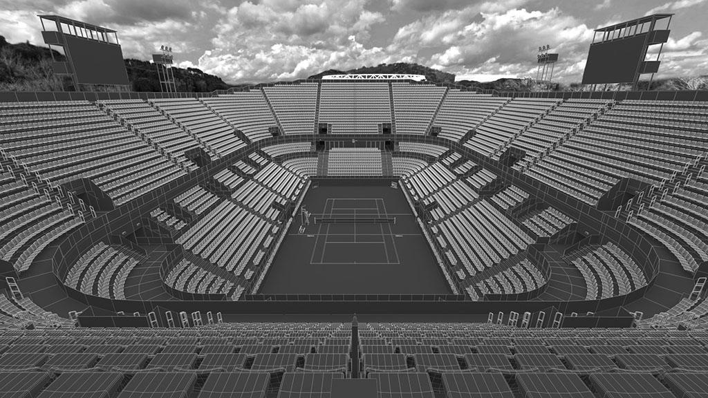 Centrale del tennis internazionali BNL Roma